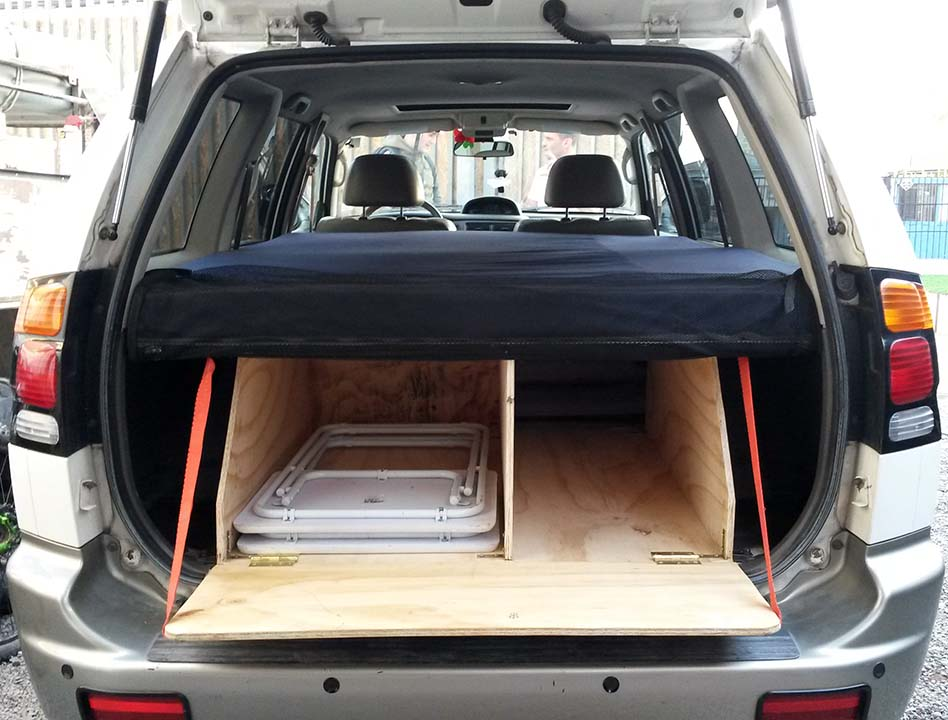 How To Convert A SUV Wagon Into Camper The Cheap And